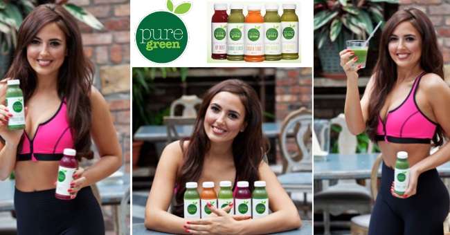 Nadia Forde Launches New Size Pure Juice