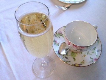 Champagne Afternoon Tea in dromoland