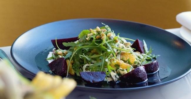 Beetroot, Fennel and Orange Salad The Marker Hotel Chef Gareth Mullins
