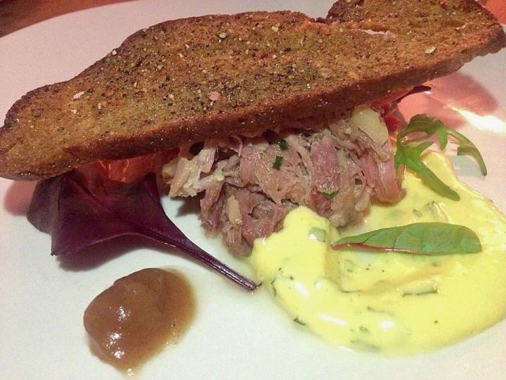 Ham Hock and Bearnaise