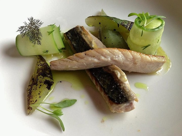 Mackerel & Cucumber with Lime