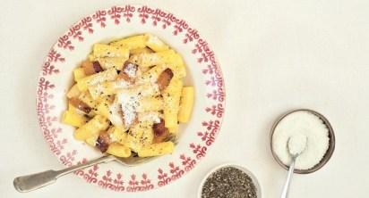 Rigatoni alla Carbonara Tasting Rome Cookbook