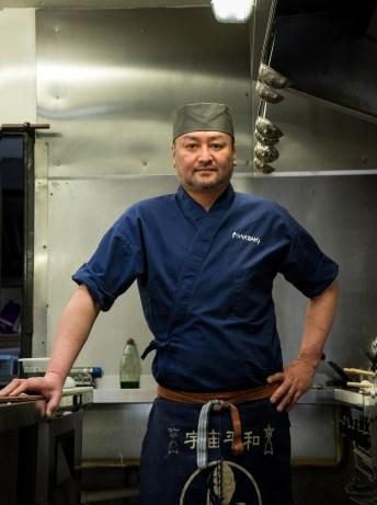 Chef Takashi Miyasaki
