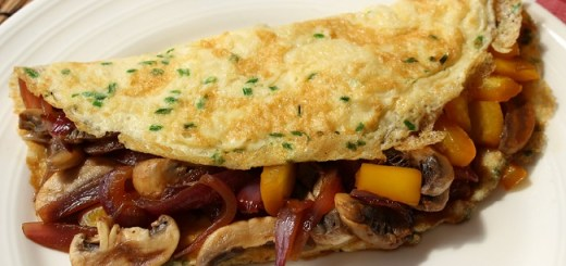 No Fuss Omelette Recipe by The Wonky Spatula