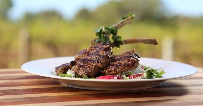 Grilled Lamb Cutlets Recipe by Chef John Torode with Wine Pairing by Neil McGuigan