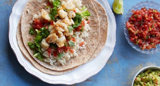 Haddock Burrito Recipe by Fearne Cotton