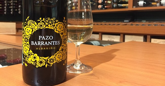 Wine Wednesday pick from O'Briens: Pazo Barrantes 2014
