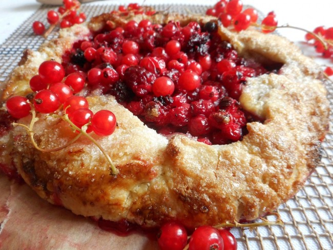 Red Berry Galette Recipe by Anna-Jane Kingston