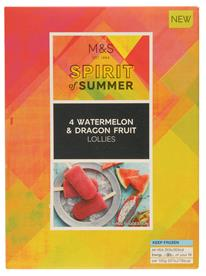M&S Treat of the Week: Pineapple, Coconut & Lime Lollies