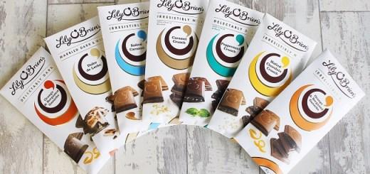 Lily O'Brien's new Chocolate Bar Earned Prestigious Gold Star Great Taste Award for