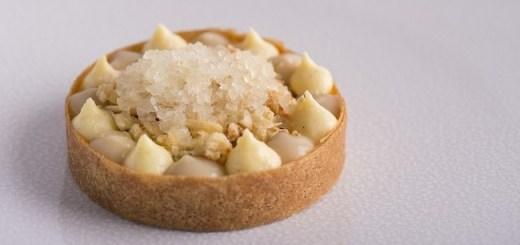 Pear and Elderflower Custard Tart Recipe by Chef Danni Barry
