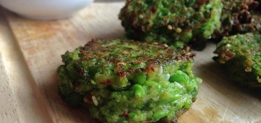 Pea & Mint Falafel with Harissa Yoghurt Dip Recipe by Niamh Mannion
