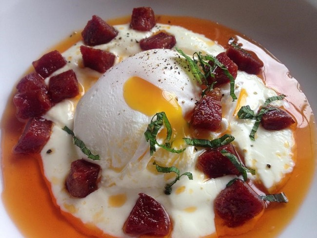 Turkish Eggs and Yoghurt (1)
