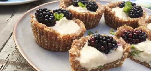 Blackberry & Cashew Custard Tarts (1)