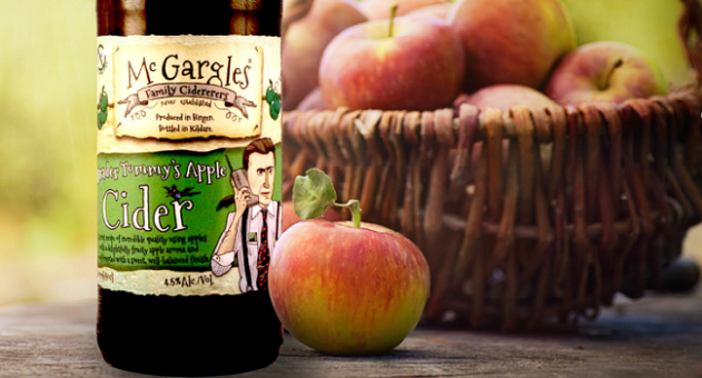 McGargles Trader Tommy's Apple Cider - Craft Cider Review