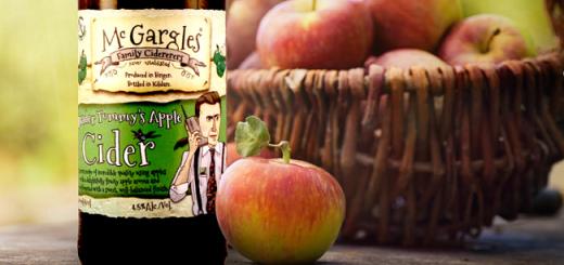 McGargles Trader Tommy's Apple Cider - Craft Cider Review