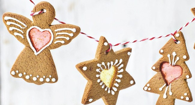 Stained Glass Window Gingerbread Biscuits Recipe by Neven Maguire