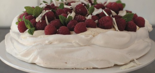 Raspberry and White Chocolate Pavlova Recipe by Neven Maguire