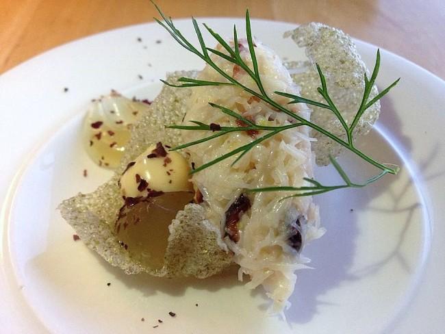 st kyrans crab seaweed cracker