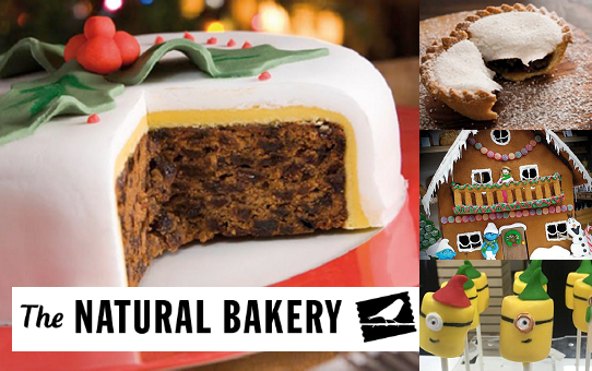 Win a Christmas Cake and a €100 Voucher from The Natural Bakery