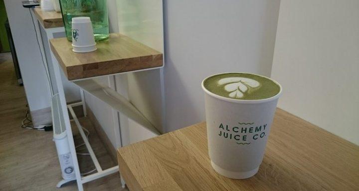 alchemy matcha latte