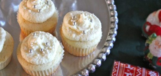Double Champagne Cupcakes Recipe by Carmel Hall