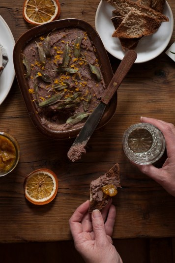 Chicken Liver Pâté with Caramelised Onions Recipe by Clodagh McKenna