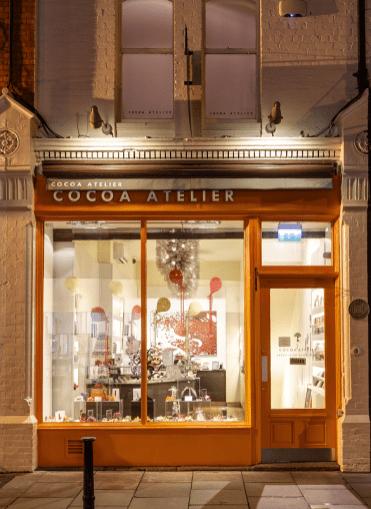 Cocoa Atelier shop exterior