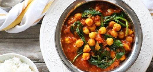 Indian Spiced Chickpea Curry Recipe