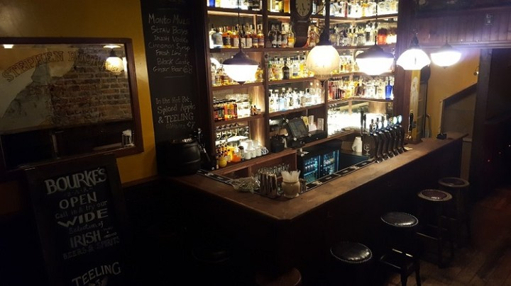 Image result for bourkes bar dublin
