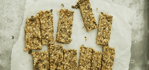 Honey and Lemon breakfast bars recipe Deliciously Ella