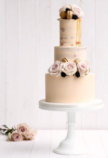 Luxe Buttercream - Wedding Cake Trends 2017