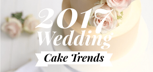 Wedding Cake Trends 2017