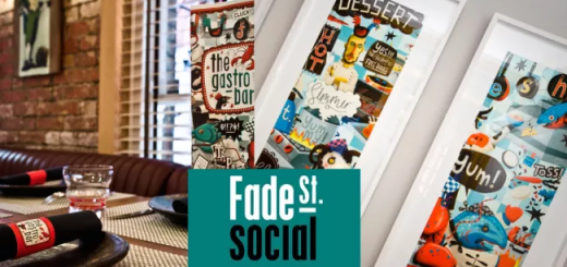 Fade Street Social Gastro Bar - 3 courses for 2 people plus a bottle of wine and a cocktail each for only €60