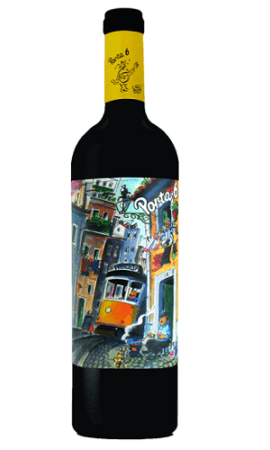 Wine Art Label