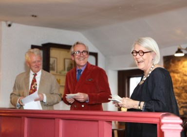 Darina Allen speaking at the launch of LitFest 17 at O'Connell's Restaurant, Donnybrook. The 5th annual Ballymaloe LitFest takes place from Friday 19th to Sunday 21st May 2017. For more visit litfest.ie. Photo: Ailbhe O'Donnell