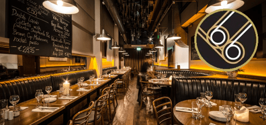 Brasserie Sixty6 – 3 course meal for 2 people with a bottle of wine and 2 cocktails for €60