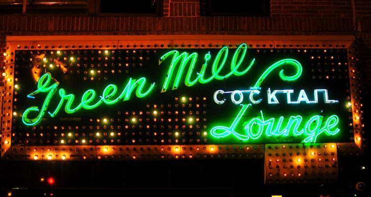 Green Mill Cocktail