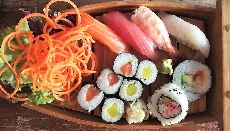 Sushi at Tani Naas