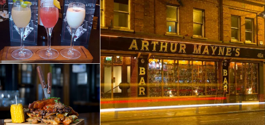 Win a 3 Course Dinner for 2 with Cocktails at Arthur Maynes Donnybrook