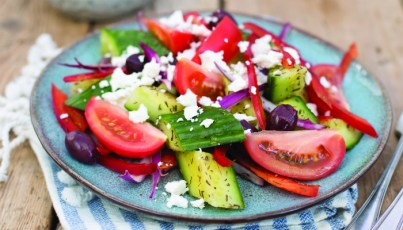 Brother-Hubbard-1482 cucumber Greek salad