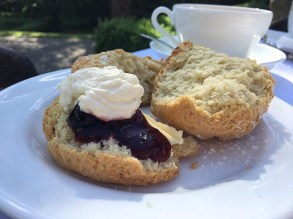 Marlfield House Scones in the Garden