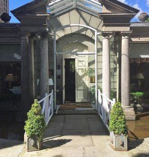 Marlfieldf House entrance