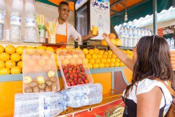 Marrakech TheTaste.ie orange juice stall