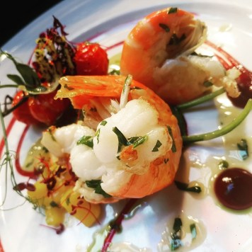 Eden Bar and Grill prawns