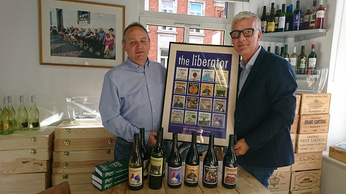 Drinking the Episodes with Richard Kelley MW, the Man Behind The Liberator Wine Saga