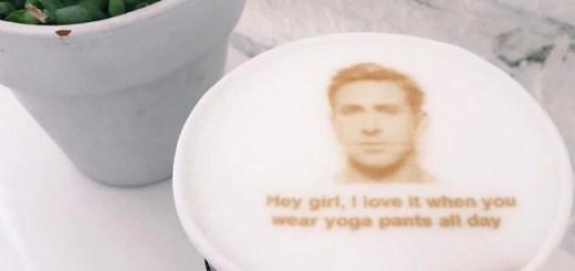 Ryan Gosling Coffee at Carrera Cafe