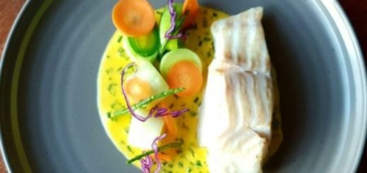Poached Cod