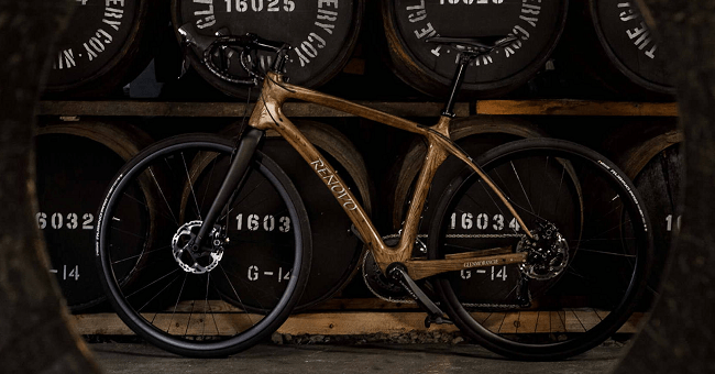 027e394901 Cycle Against the Grain with this Beautiful Bike Made from Whisky Barrels