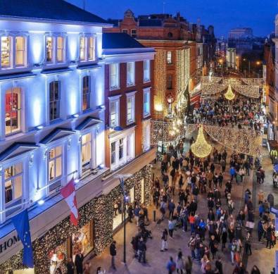 Dublin at Christmas Lights 4
